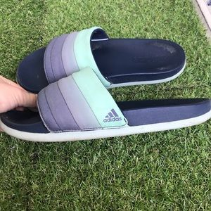 adidas Shoes - GUC: Adidas Women's CloudFoam Slides ❤️